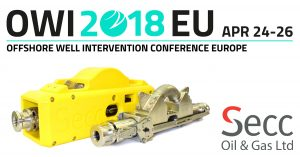 Secc is exhibiting at OWI EU 2018
