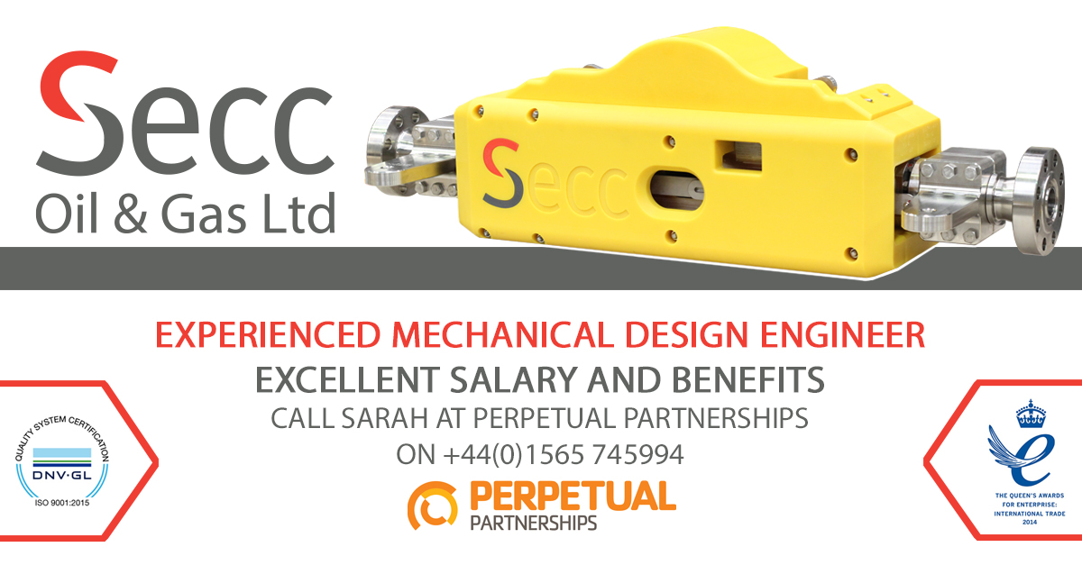 Image for Secc Mechanical Design Engineer job specification