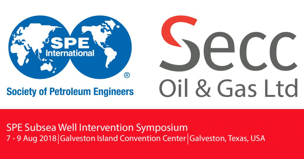 Come and meet SECC at the SPE Well Intervention Symposium in Galveston, Texas.